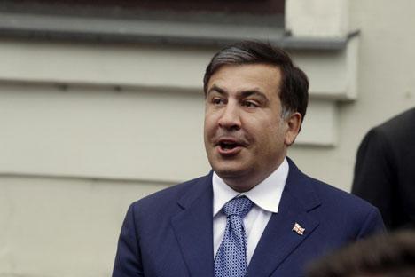 Il presidente della Georgia Mikhail Saakashvili (Foto: Itar-Tass)