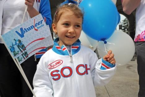 Per i Giochi invernali di Sochi 2014 si attendono 29 mila volontari olimpici (Foto: RIA Novosti / Viktor Kliushkin)