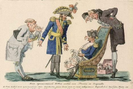 """Stampe di Ivan Terebenev - Musica: """"La marcia degli eroi del 1812"""" di Alexei Mislovskiy - Montaggio di Aleksandr Ganyushin"""