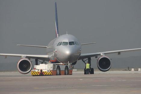 Un airbus Aeroflot in pista (Foto: Ufficio Stampa)