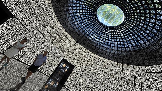 La Fondazione per l'Innovazione Skolkovo ospite della Biennale dell'Architettura 2012 di Venezia (Foto: Itar-Tass)