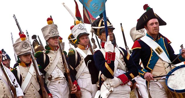 La rievocazione della battaglia di Lubino faceva parte della celebrazione del 200° anniversario della Guerra Patriottica del 1812 (Foto: Olga Lisinova / RG)