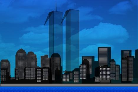 Le Torri Gemelle, colpite dai terroristi l'11 settembre 2001 (Credit: Niyaz Karim)