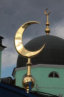 """Gli abitanti del quartiere Mitino a Mosca dicono """"no"""" alla costruzione di una nuova moschea nella capitale russa (Foto: Ria Novosti)"""