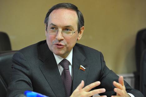 Il deputato della Duma Vyacheslav Nikonov (Foto: PhotoXPress)