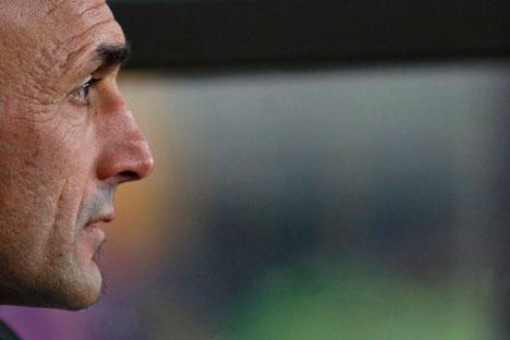 L'allenatore dello Zenit San Pietroburgo, l'italiano Luciano Spalletti (Foto: Itar-Tass)