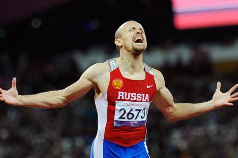 Il campione russo di atletica leggera Alexei Labzin (Foto: Itar Tass)