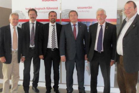 La delegazione da Yaroslavl in visita a Bolzano (Foto: Ufficio Stampa)