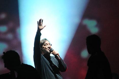 Yuri Shevchuk in una performance dal vivo (Foto: Itar-Tass)
