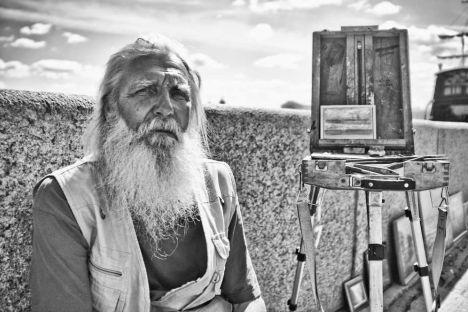 """Una delle fotografie esposte nella mostra """"Cento anni: il ritratto russo"""" (Foto: Keen Heick-Abildhauge)"""