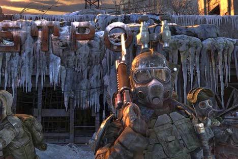 """Screenshot del videogioco """"Metro 2033"""", basato sul romanzo dello scrittore russo Dmitri Glukhovsky (Fonte libera)"""