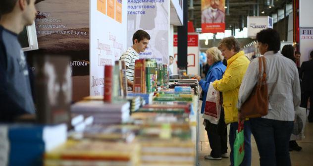 Al Salone Internazionale del Libro di Mosca (Foto: PhotoXPress)