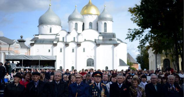 I festeggiamenti per i 1.150 anni della Russia a Velikij Novgorod (Foto: Ria Novosti)
