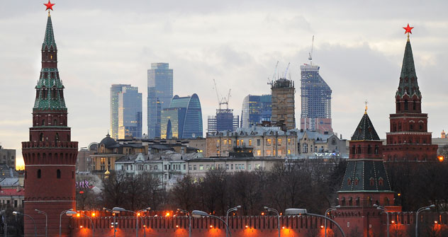 Le autorità della capitale russa stanno mettendo a punto un piano per limitare la realizzazione di nuovi grattacieli nel centro città (Foto: Itar Tass)