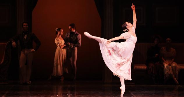 La ballerina Petra Conti (Foto: Brescia Amisano Teatro alla Scala)