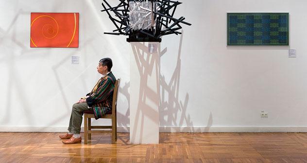 """""""Segno su un cespuglio"""", Francisco Infante, Galleria Statale Tretjakov (Foto: Andy Freeberg)"""
