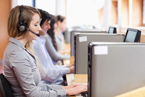 Dalla Russia arriva il nuovo programma per i call center delle grandi aziende, che consente risparmio e qualità (Foto: Alamy/Legion Media)