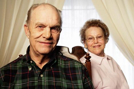 Una coppia di nonni (Getty Images / Fotobank)