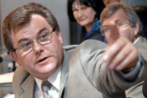 Il vicedirettore dell'agenzia di statistica Rosstat Konstantin Lajkam (Foto: RIA Novosti)