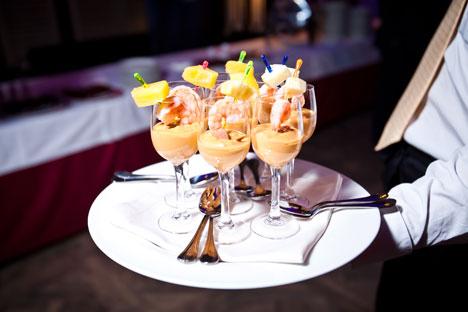 """Piatti raffinati e gusti eleganti hanno fatto da sfondo alla serata di inaugurazione del festival """"Buona Italia"""" (Foto: Ufficio Stampa)"""