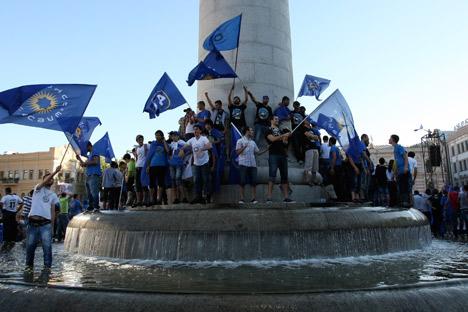 Con la vittoria elettorale in parlamento di Boris Ivanishvili si attende un cambio di rotta nei rapporti Tbilisi-Mosca (Foto: Ap)