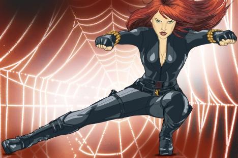 Vedova Nera, la prima delle spie sovietiche, antagonista di Iron Man (Credit: Natalia Mikhaylenko)