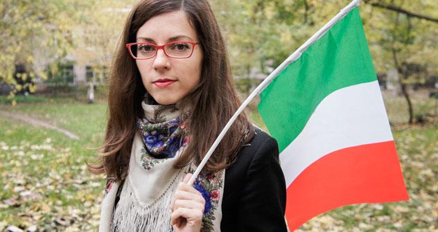 "Ekaterina Antoshkina, organizzatrice del festival ""Italian Week"" (Foto: Svetlana Privalova/ ufficio stampa)"