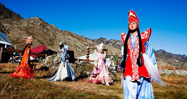 Nella repubblica dell'Altaj vivono 200.000 abitanti (Foto: Vera Undritz)