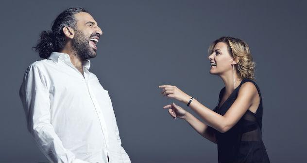 Il jazzista Stefano Bollani e la cantante Irene Grandi svelano il loro feeling con la Terra degli Zar (Foto: Ufficio Stampa)