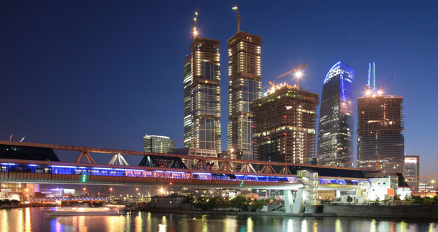 A Mosca si lavora per rendere la città più accogliente e confortevole (Foto: Lori/LegionMedia)