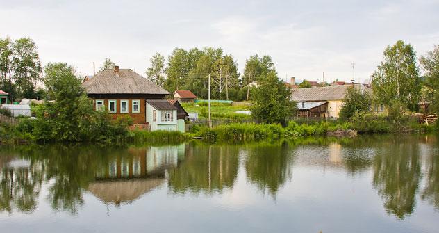 Un villaggio nel territorio di Perm (Foto: Lori/LegionMedia)