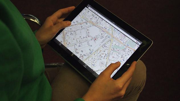 Navigatori e mappe satellitari per non perdersi (Foto: Russia Oggi)