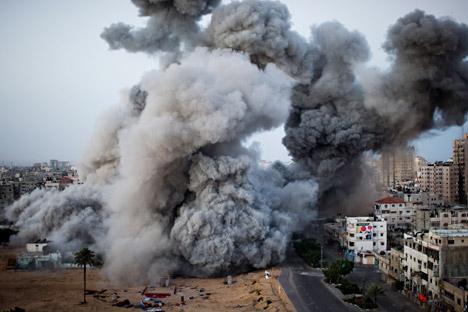 Si lavora per una tregua nella Striscia di Gaza, ma c'è scetticismo sulla reale efficacia del processo di pace (Foto: AP)