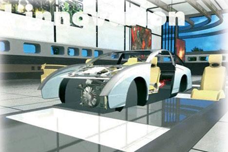 """Una delle immagini di presentazione del progetto """"From Concept to Car"""" (Foto: Camera di Commercio di Torino)"""