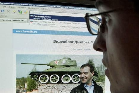 In Russia il dominio cirillico .рф  ha il più alto numero di utenti registrati (Foto: Itar-Tass)