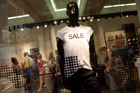 I russi in vacanza prediligono lo shopping (Foto: Gettyimages/Fotobank)