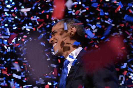 Il presidente degli Stati Uniti Barack Obama, eletto per la seconda volta alla Casa Bianca (Foto: AFP / East News)