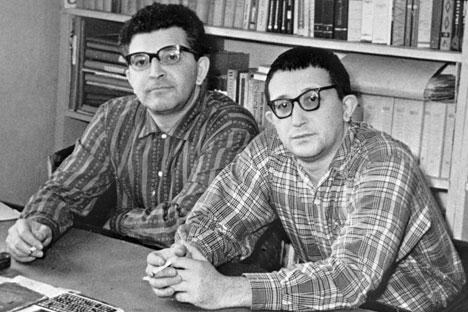 I fratelli Strugatskij. Fonte: Ria Novosti