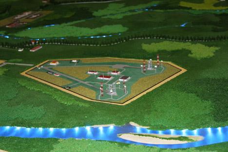 La piantina del progetto (Foto: Ria Novosti)