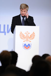 Il presidente della Federcalcio russa Nikolai Tolstyh (Foto: Itar-Tass)