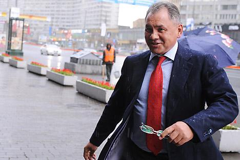 Il nuovo ministro russo della Difesa, Sergei Shoigu, nominato dal Presindente Vladimir Putin dopo l'allontanamento di Anatoly Serdyukov (Foto: Itar-Tass)