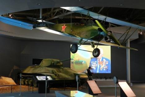 Anche modellini a grandezza natuale sono ospitati nel Museo ebraico di Mosca (Foto: Emmanuel Grynszpan)