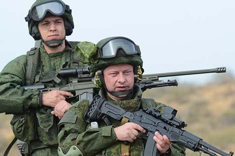 Il Ministero della Difesa intende realizzare un modello di equipaggiamento che permetterà di incrementare l'efficienza delle truppe di fanteria Fonte: Flickr / mateus27.24.25