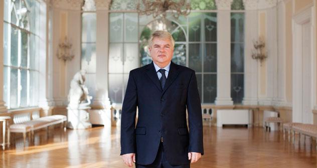 Aleksei Meshkov, ambasciatore straordinario, plenipotenziario della Russia in Italia e nella Repubblica di San Marino (Foto: Michele Palazzi)