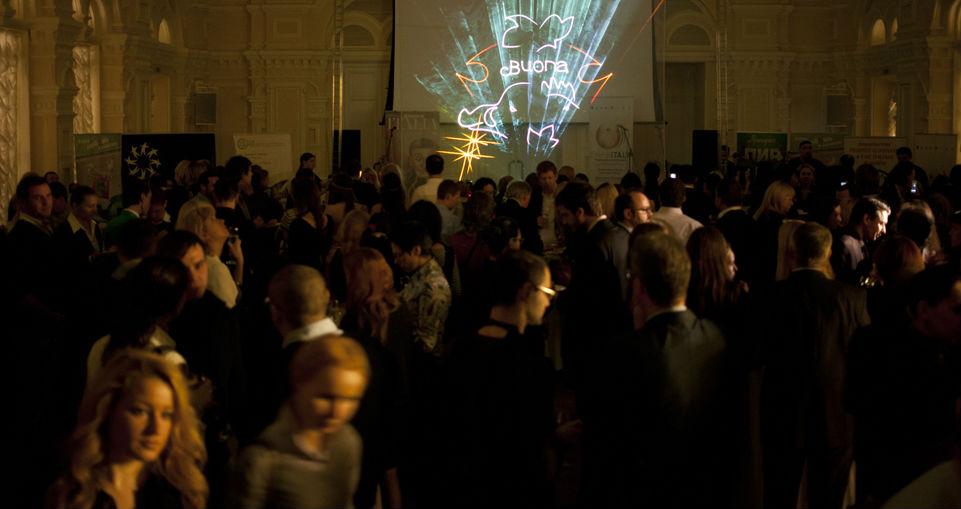 """La serata conclusiva del Festival """"Buona Italia"""" al Gum di Mosca (Foto: Kirill Lagutko)"""
