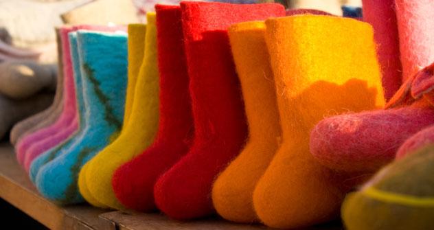 Valenki multicolor, a ognuno il suo (Foto: Lori/LegionMedia)