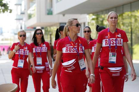 Alle olimpiadi di Londra 2012 hanno partecipato 228 atlete russe. Gli uomini della selezione erano, invece, 208 (Foto: Ap)