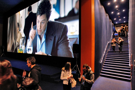 The trailer of the movie, Did You Hear About the Morgans?, screened in Russia's one of the largest cinemas, Oktyabr. Source: Kommersant