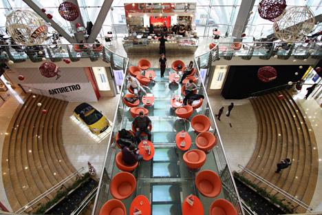 Il centro commerciale Evropejskij di Mosca (Foto: RIA Novosti / Maria Alexeeva)