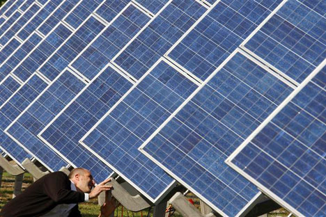 Pannelli solari per riscaldare Mosca: il progetto pilota dovrebbe iniziare nel 2013 (Foto: Reuters/Vostock)